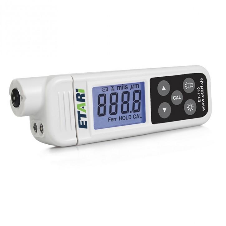 Lackschichtenmessgerät, Schichtdickenmessgerät ET 110 F, Zustand, gebraucht, geprüft